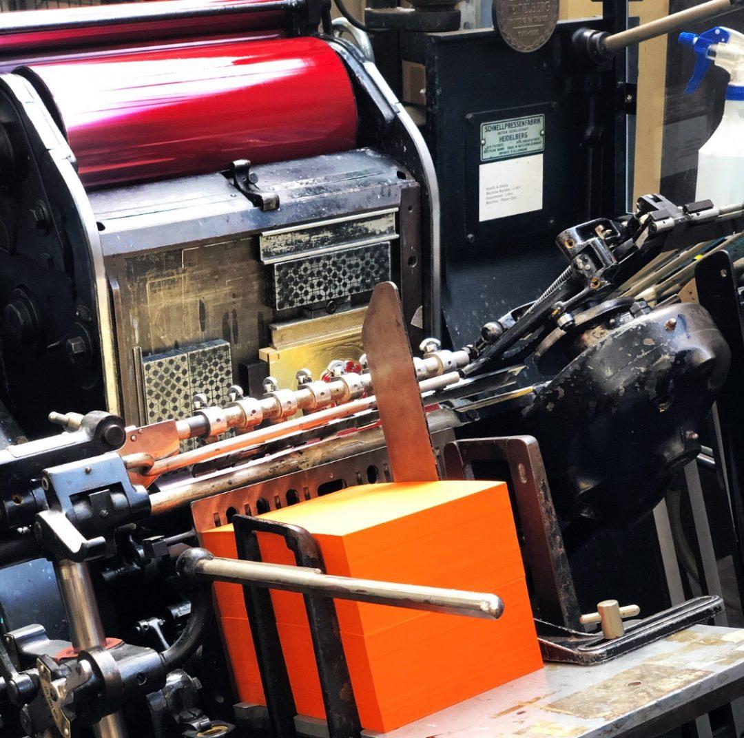 Downey letterpress red 04