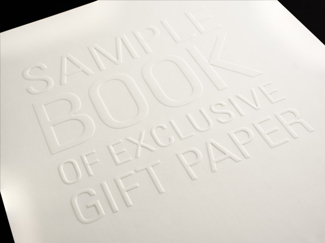 Single Level Embossing