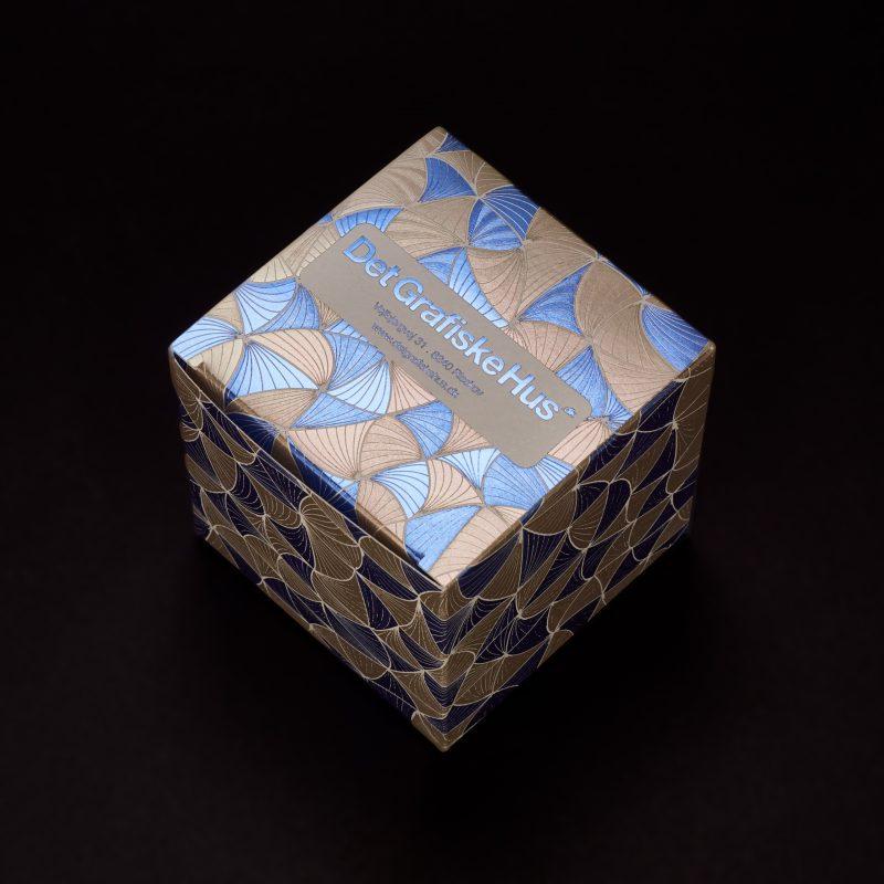 Flat Foiled Carton