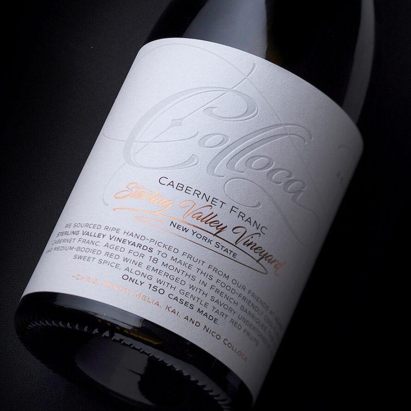 Colloca wine label