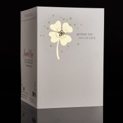 Embossed and Foiled Greeting Card