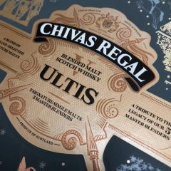 Chivas Regal Ultis label