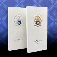 Glenturret 25 and 30 year old Whisky books