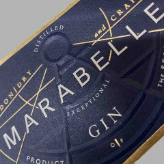 Marabelle Gin label