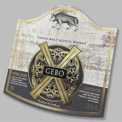 Wolfburn Gebo label
