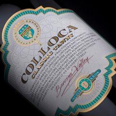 Colloca Tawny wine label